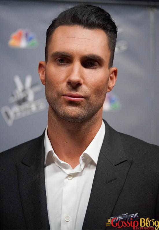 Adam Levine at 'The Voice' Season 5 Finale