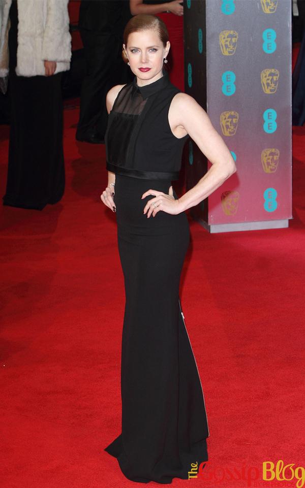 Amy Adams at 2014 BAFTAs