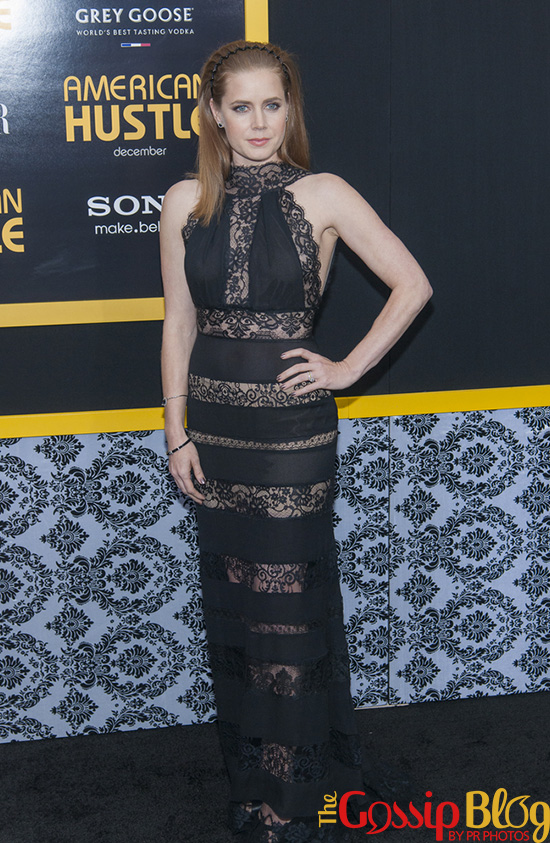 Amy Adams at 'American Hustle' New York Premiere