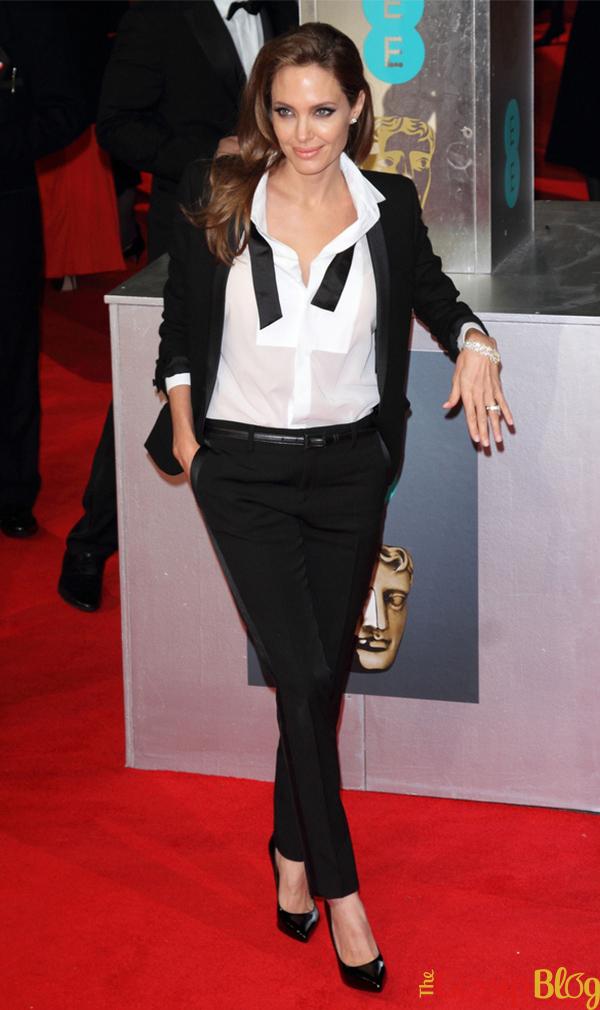 Angelina Jolie at 2014 British Academy Film Awards