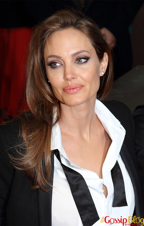 Angelina Jolie at British Academy Film Awards 2014