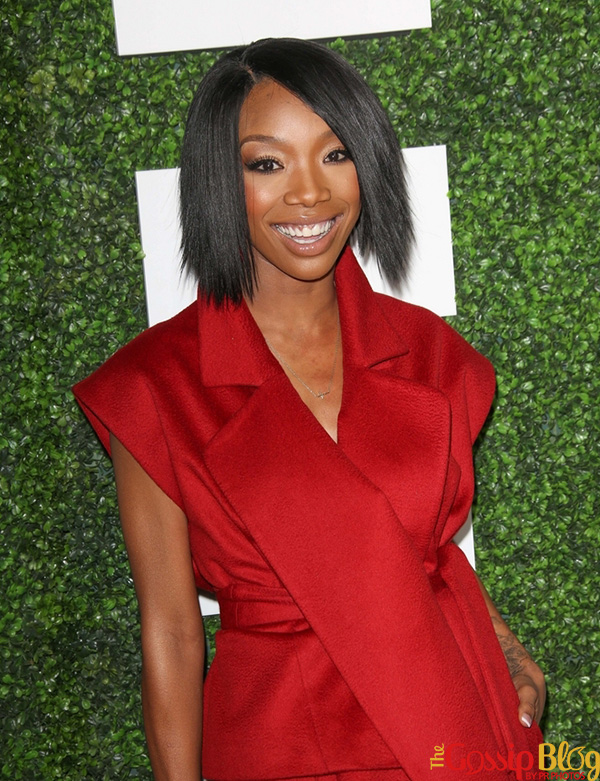 Brandy at 2014 Essence Luncheon