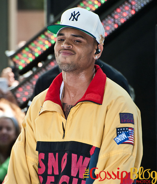 Chris Brown in Concert on NBC Today Show