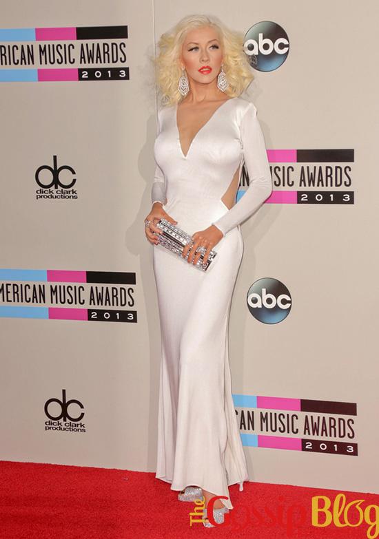 Christina Aguilera at 2013 AMA