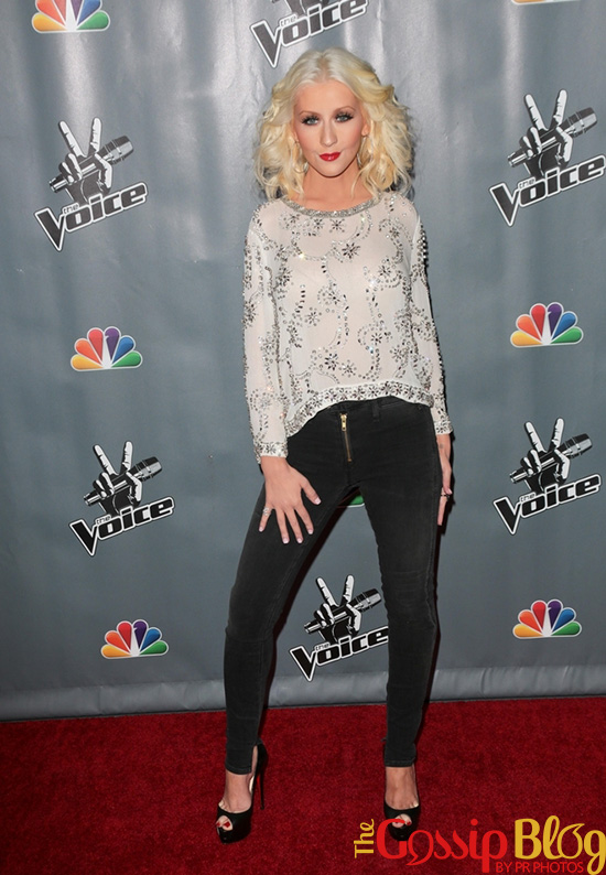 Christina Aguilera-Skinny-Jeans-Weight-Loss