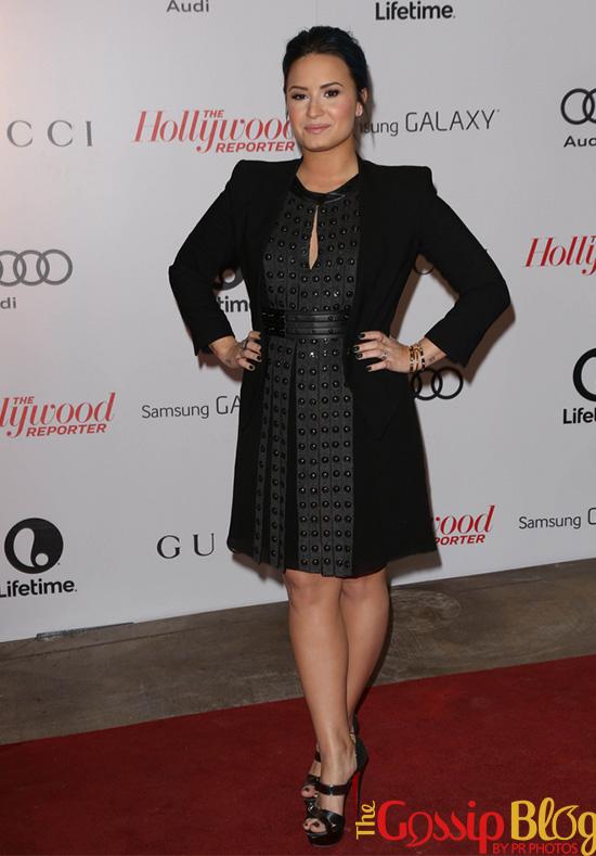 Demi Lovato at THR Women In Entertainment Breakfast Honoring Oprah Winfrey