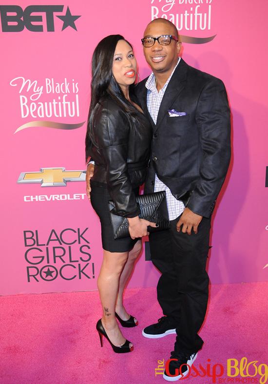 Ja Rule at 2013 Black Girls Rock Awards