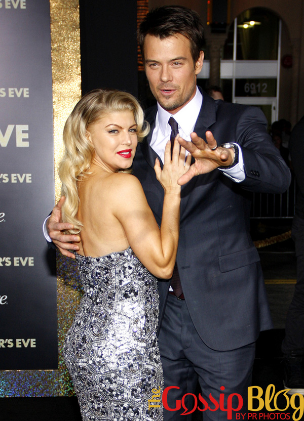 Josh Duhamel and Fergie at 'New Year's Eve' Los Angeles Premiere