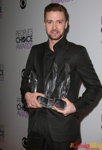 Justin Timberlake at 40th Annual People's Choice Awards