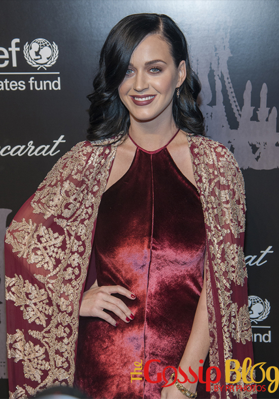 Katy Perry at 9th Annual UNICEF Snowflake Ball