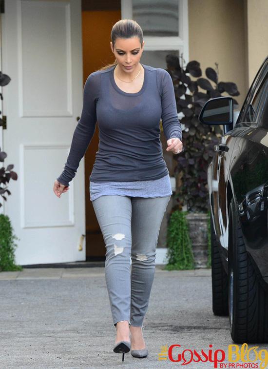 Kim Kardashian goes to Epione in LA