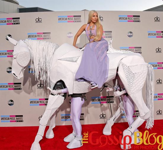 Lady Gaga at 2013 AMA