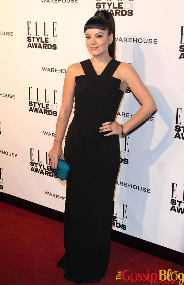 Lily Allen at Elle Style Awards 2014