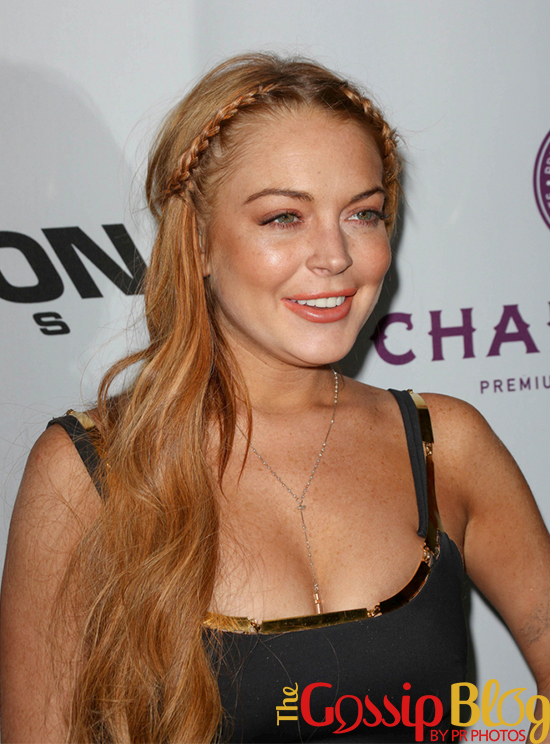 Lindsay Lohan at 'Scary Movie V' Los Angeles Premiere