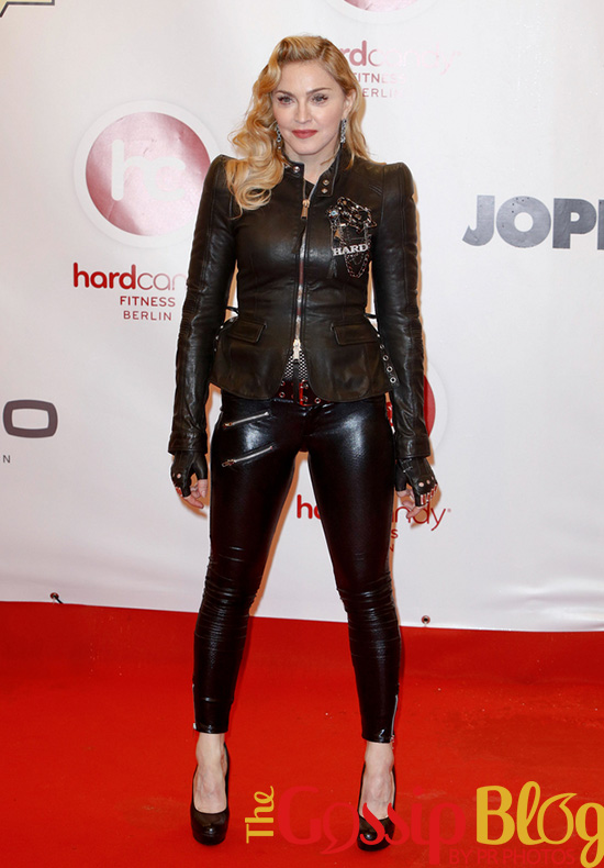 Madonna at Hard Candy Gym Opening Photocall