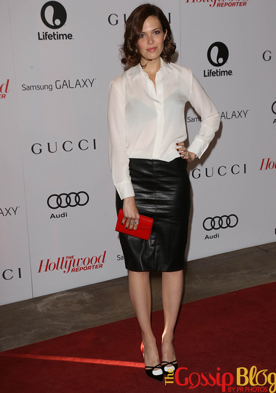 Mandy Moore at The Hollywood Reporter's Women In Entertainment Breakfast Honoring Oprah Winfrey