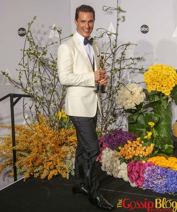 Matthew McConaughey, 2014 Academy Awards