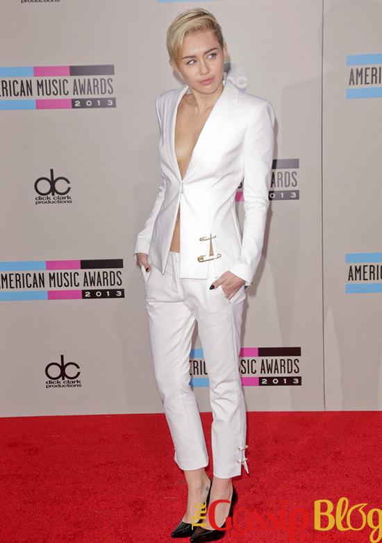 Miley Cyrus at 2013 AMA
