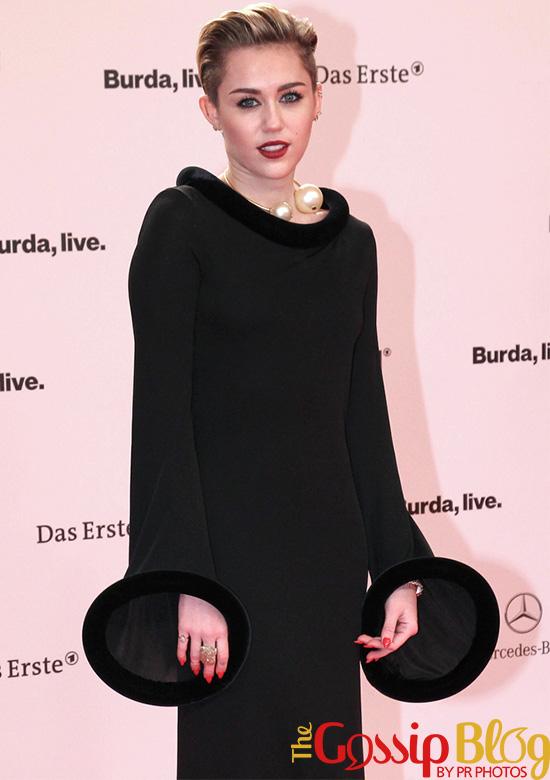 Miley Cyrus at Bambi Awards 2013