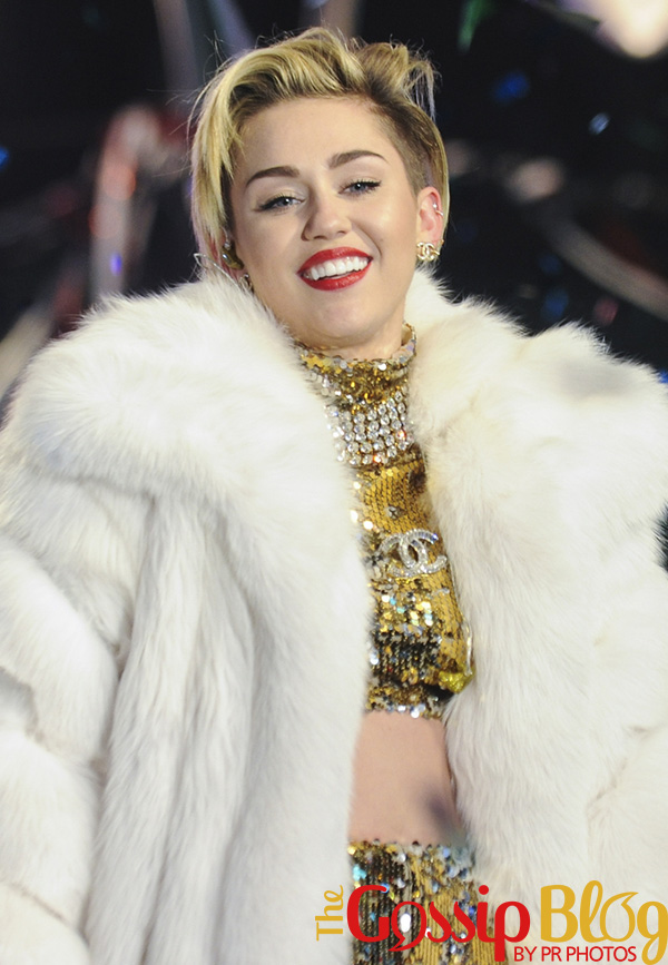 Miley Cyrus at New Year's Rockin' Eve 2014