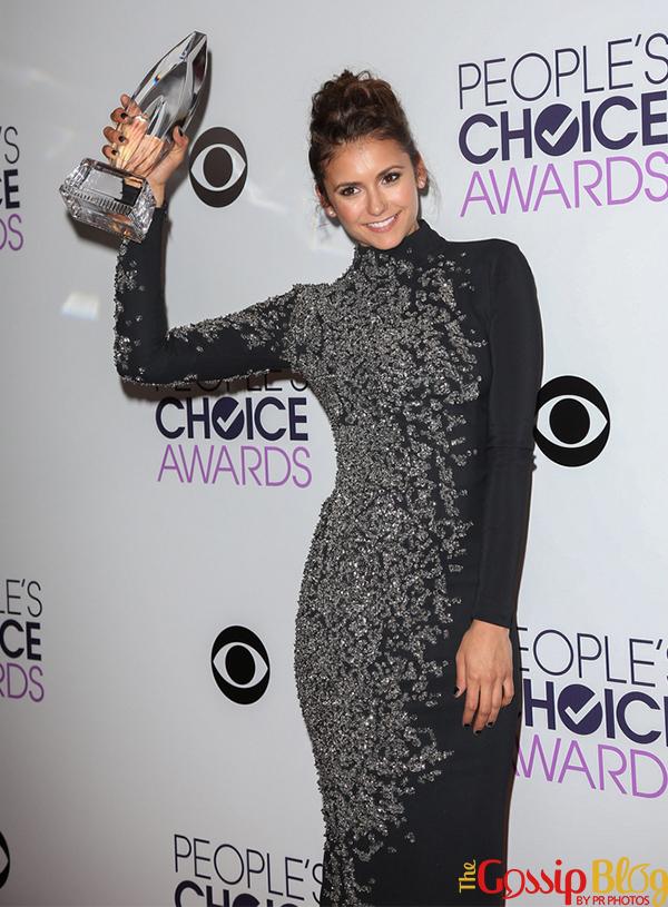 Nina Dobrev at 40th Annual People's Choice Awards