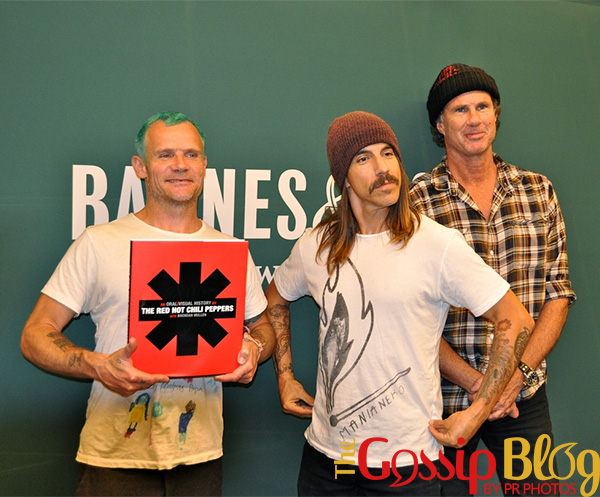 Red Hot Chili Peppers at 'An Oral Visual History' Book Signing