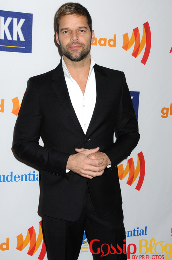Ricky Martin at 2011 GLAAD Awards