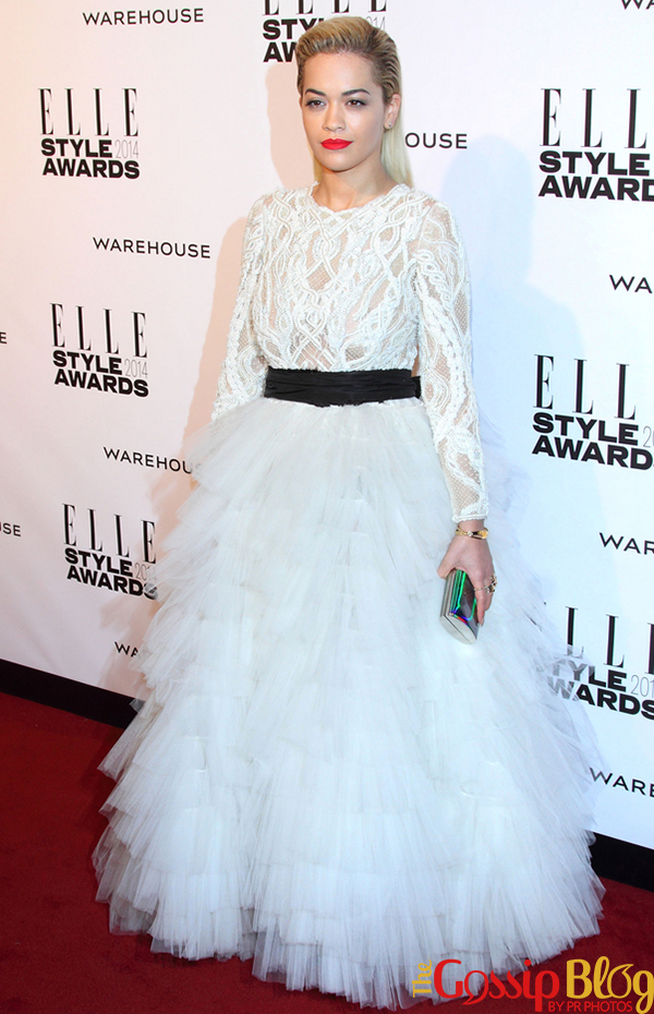 Rita Ora at Elle Style Awards 2014