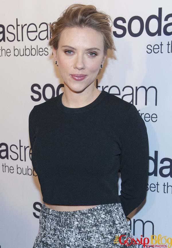 Scarlett Johansson, SodaStream Ambassador