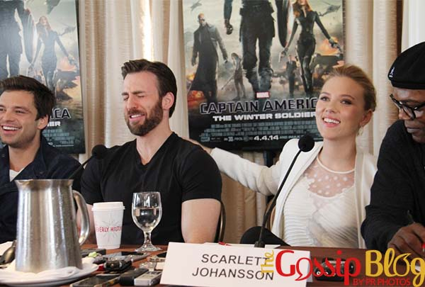 Scarlett Johansson, Captain America, The Winter Soldier'