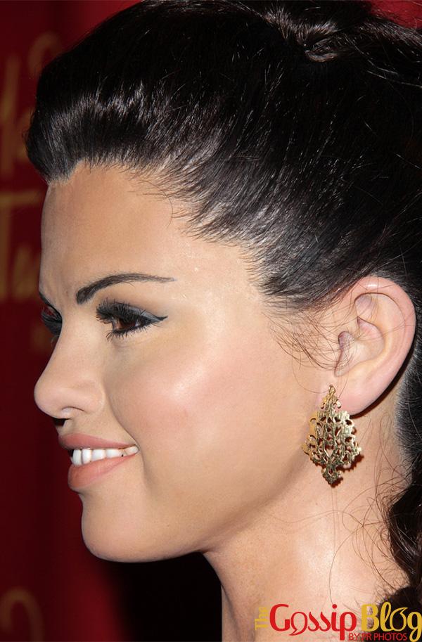 Selena Gomez Wax Figure Unveiling