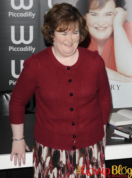 Susan Boyle Book Signing