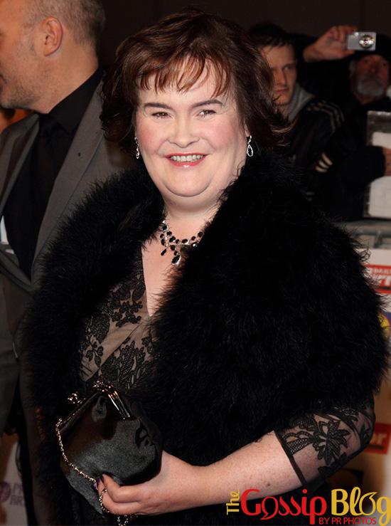 Susan Boyle at Pride of Britain Awards 2012