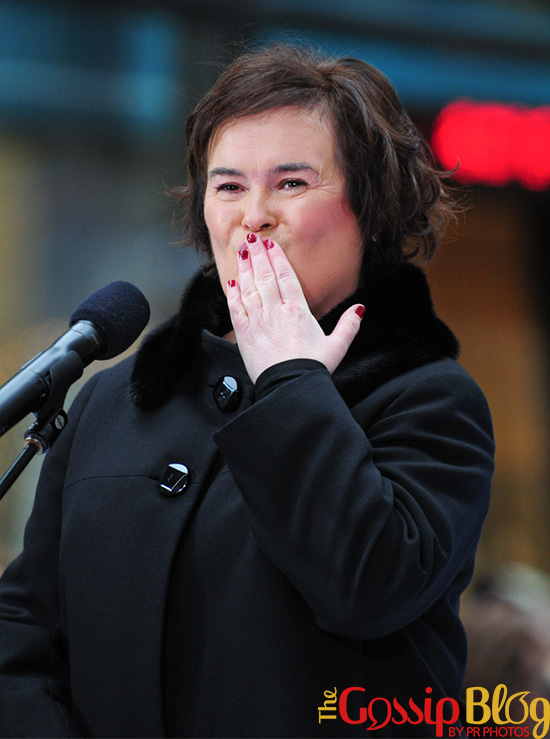 Susan Boyle in Concert on NBC's Today Show