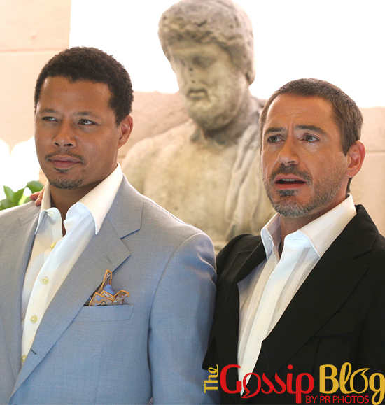 Terrence Howard at 'Iron Man' Photocall