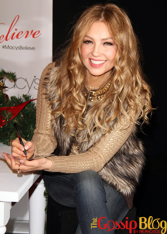 Thalia at Macy's National Believe Day! Campaign