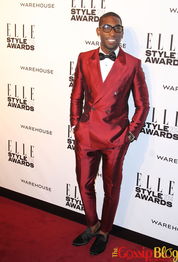 Tinie Tempah at Elle Style Awards 2014