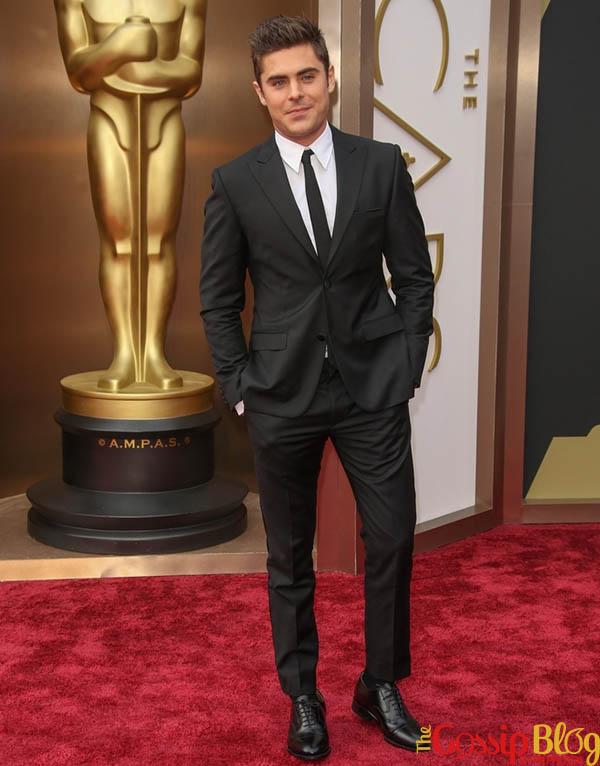 Zac Efron, 2012 Academy Awards