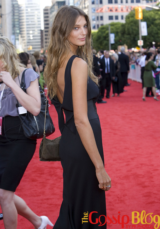 Daria Werbowy at Canada's Walk of Fame
