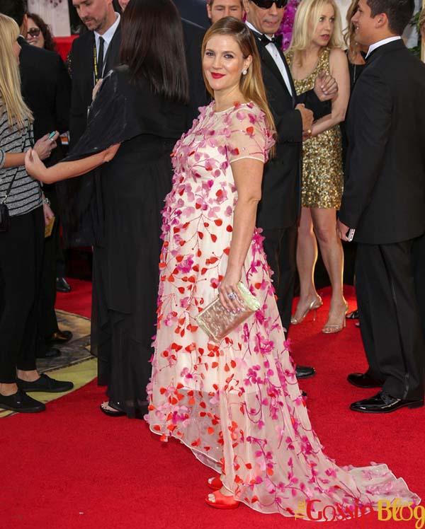 Drew Barrymore, 2014 Golden Globes