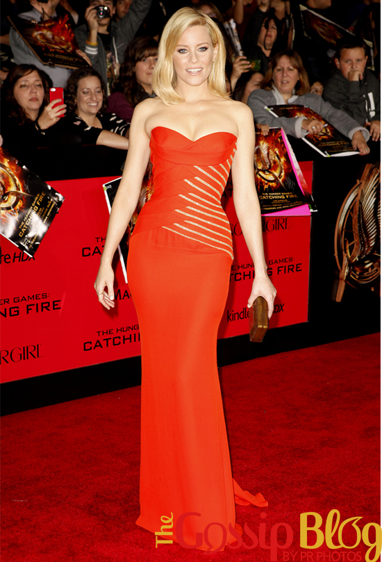 Elizabeth Banks at 'Catching Fire' Los Angeles Premiere