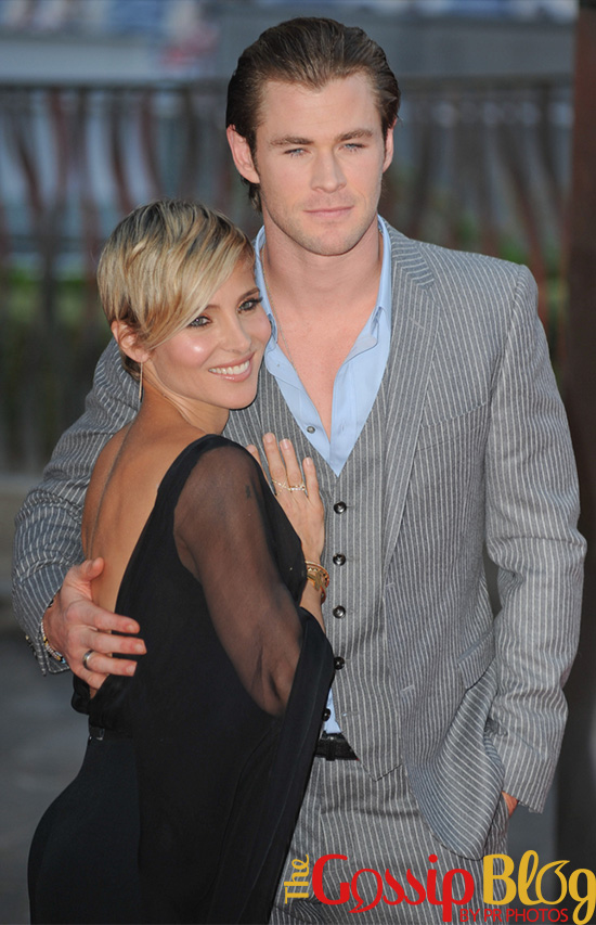 Elsa Pataky and Chris Hemsworth at 'Rush' Premiere