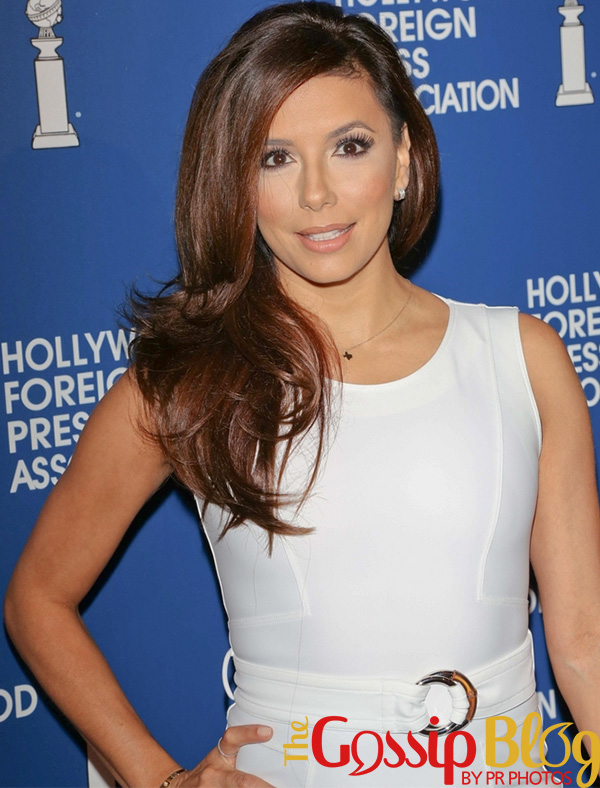 Eva Longoria at 2013 Hollywood Foreign Press Association Installation Luncheon