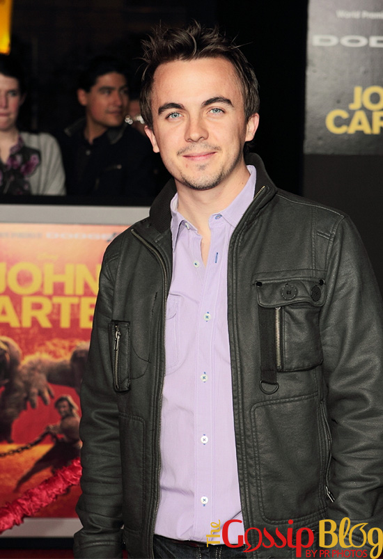 Frankie Muniz at 'John Carter' LA Premiere