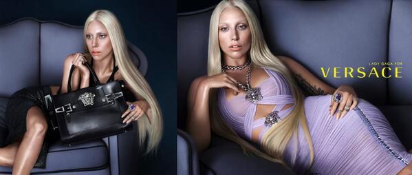 Gaga for Versace