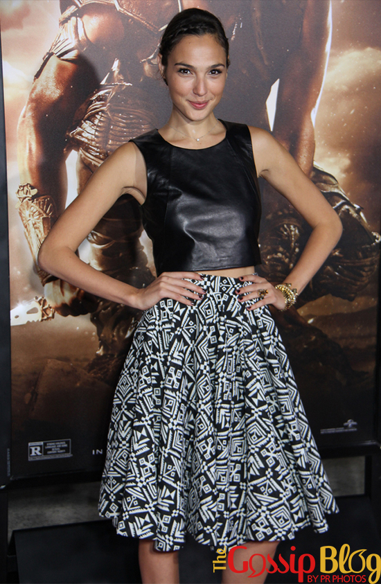 Gal Gadot at 'Riddick' Los Angeles Premiere