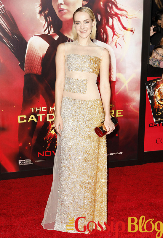Jena Malone at 'Catching Fire' Los Angeles Premiere