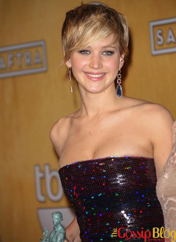 Jennifer Lawrence at 20th Annual SAG Awards