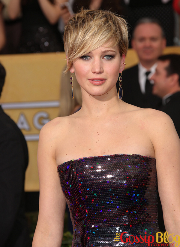 Jennifer Lawrence at 20th Annual Screen Actors Guild Awards