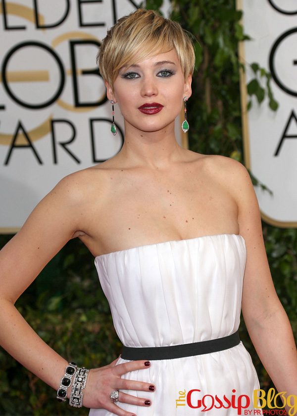Jennifer Lawrence at 71st Annual Golden Globe Awards